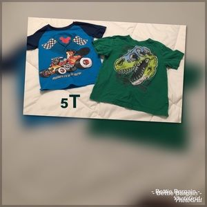 5T.   2pc Shirt Lot